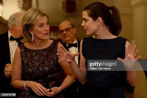 La Princesse Astrid et la Princesse Charlotte Casiraghi de Monaco assistent au Dîner de Gala organisé par l'Association FXB International Fondée en...