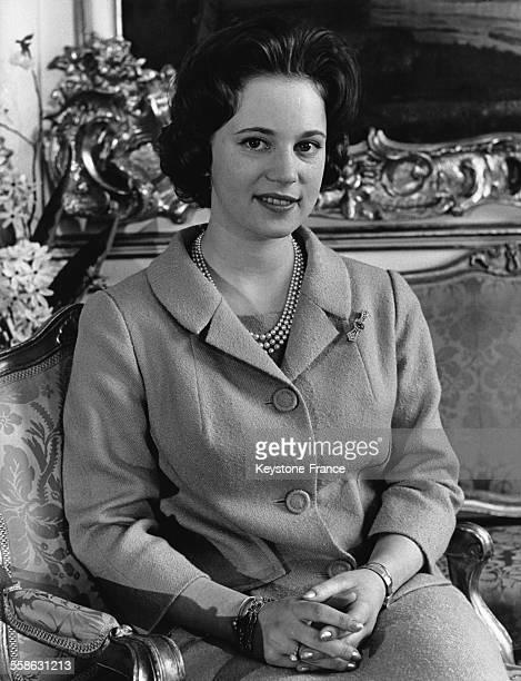 La Princesse Benedikte a 21 ans le 29 avril 1965 a Copenhague Danemark