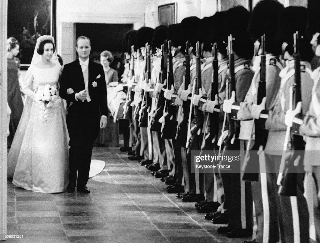 Mariage De La Princesse Benedikte : News Photo