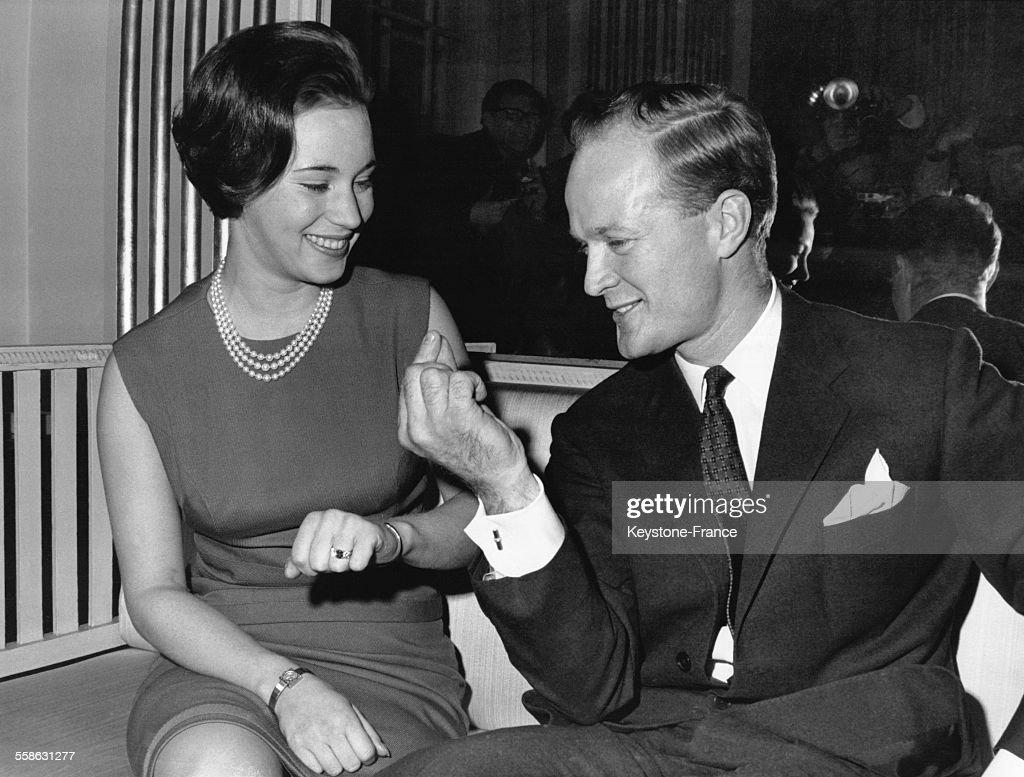 La Princesse Benedikte Et Son Fiance Le Prince Richard : News Photo