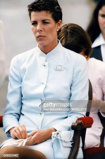 La princesse Caroline 31 mai 1997 Monaco