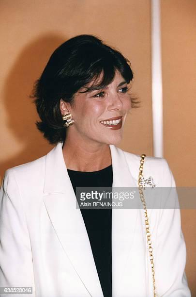 La princesse Caroline de Monaco lors d'une remise de prix le 12 mai 1998 à Monaco