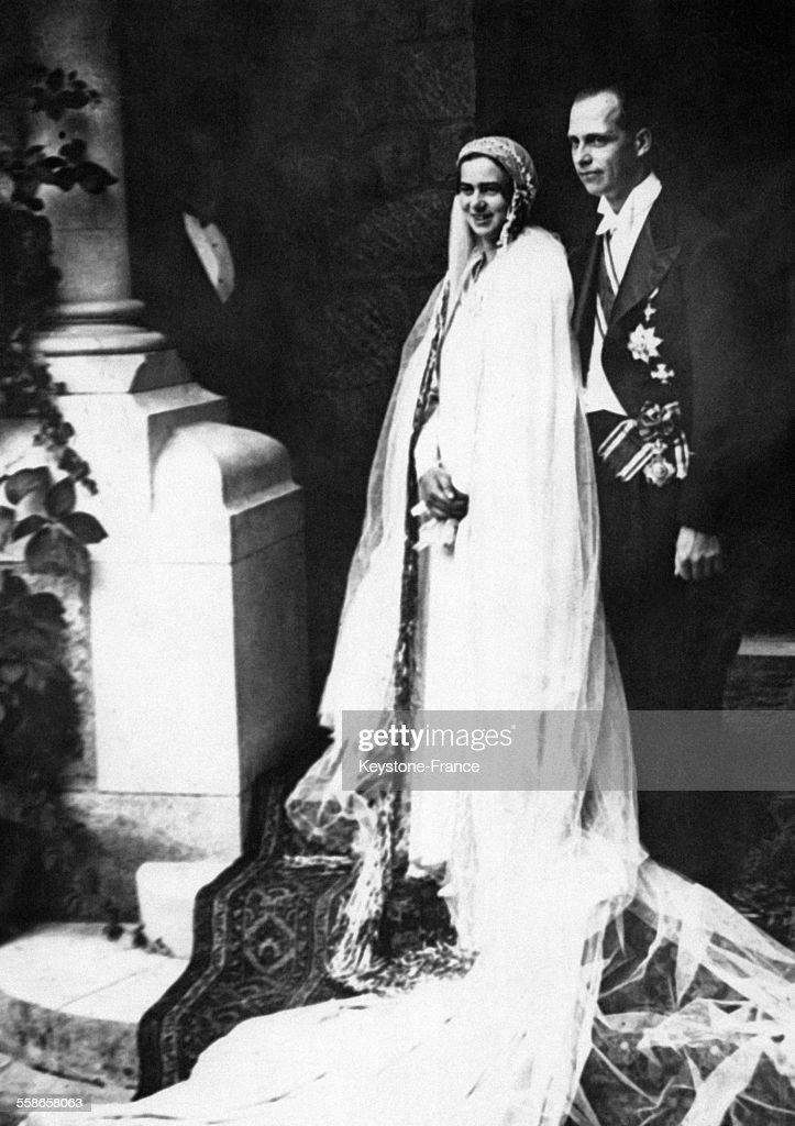 Mariage De La Princesse Illeana De Roumanie Et De L'Archiduc Antoine De Habsbourg : News Photo