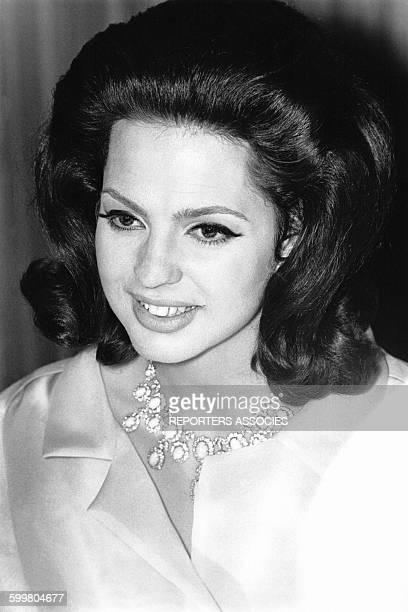 La Princesse Ira de Furstenberg circa 1960 en Italie