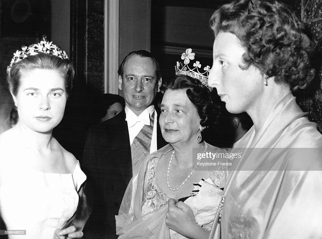 La fille du Comte de Paris, le Prince Louis-Ferdinand de Prusse et la Princesse Kira de Prusse : News Photo