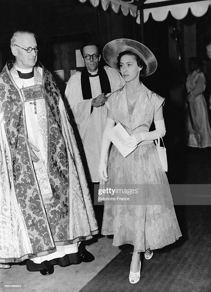 La Princesse Margaret à l'église St Peter's : News Photo