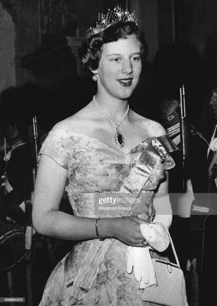 La Princesse Margrethe A 18 Ans : News Photo