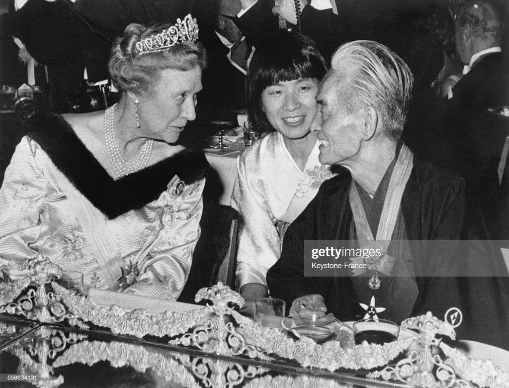 Diner En L Honneur Des Prix Nobel 1968 : News Photo