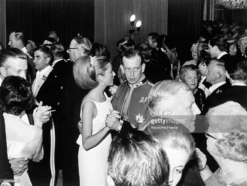 La Princesse Paola Et Le Duc De Kent Ouvrent Le Bal : News Photo