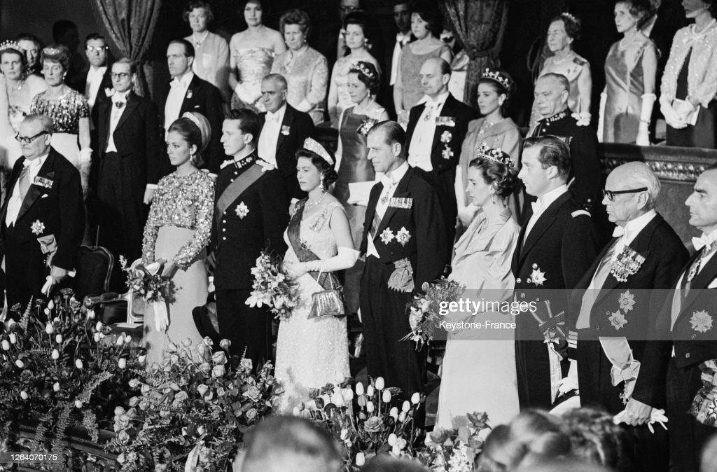 Visite officielle de la reine Elisabeth d'Angleterre en Belgique : News Photo