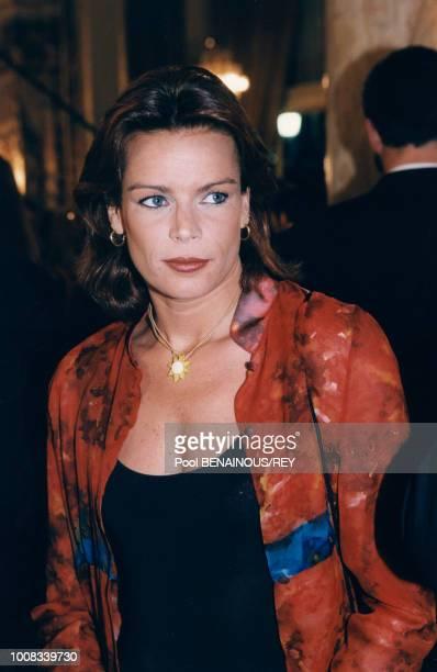 La princesse Stéphanie de Monaco le 16 avril 1997 à Monte Carlo Monaco