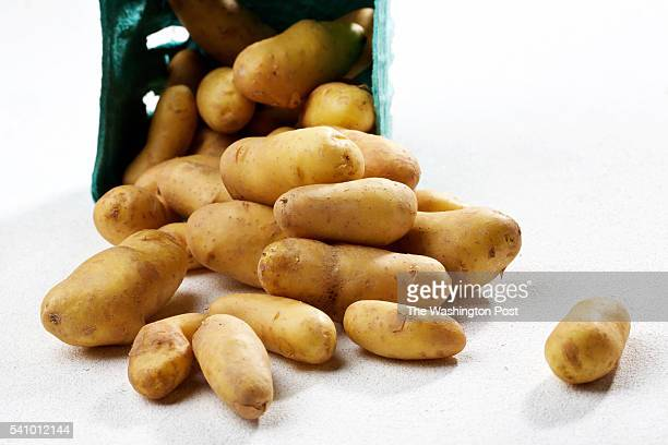 WASHINGTON DC La Ratte fingerling potatoes from Tree and Leaf photographed in Washington DC