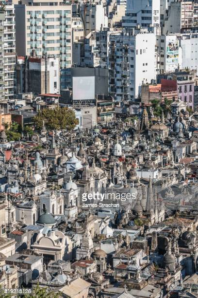 La Recoleta Cemetery, considered one of the most beautiful in the world, lies right in the heart of the city, Buenos Aires, Argentina
