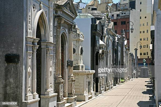 La Recoleta Cemetery in Buenos Aires Argentina