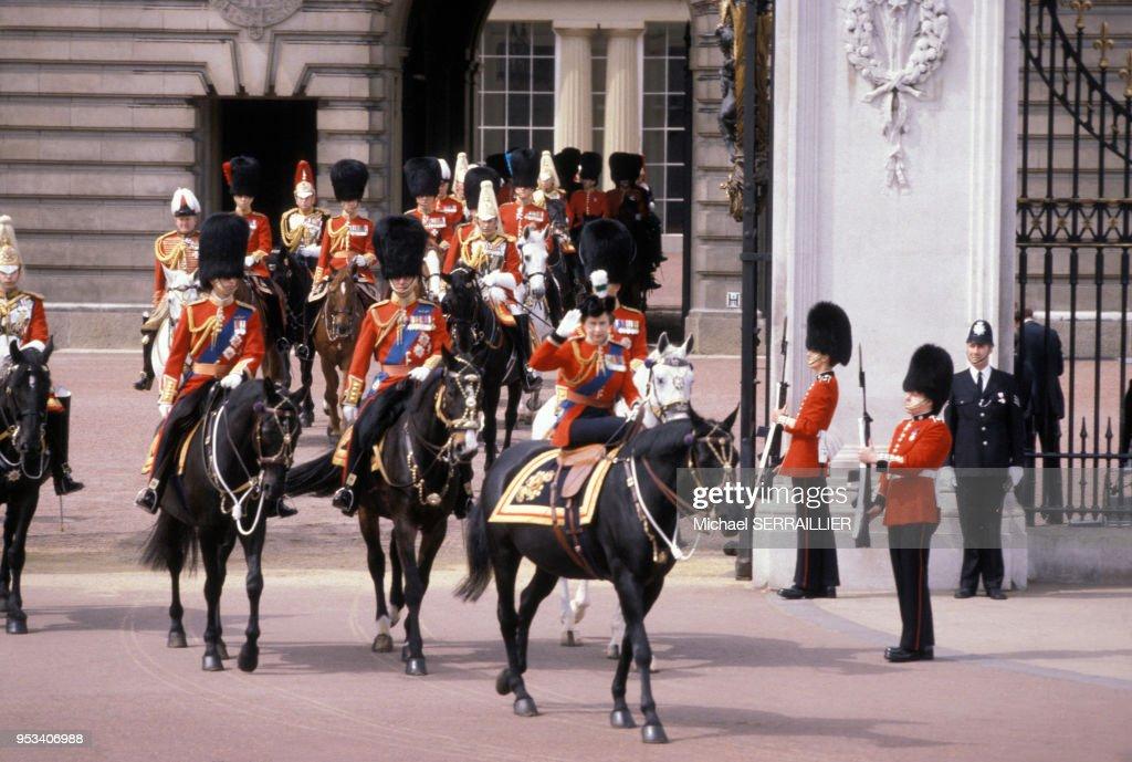 Défilé ?Trooping the Colour? à Londres : News Photo