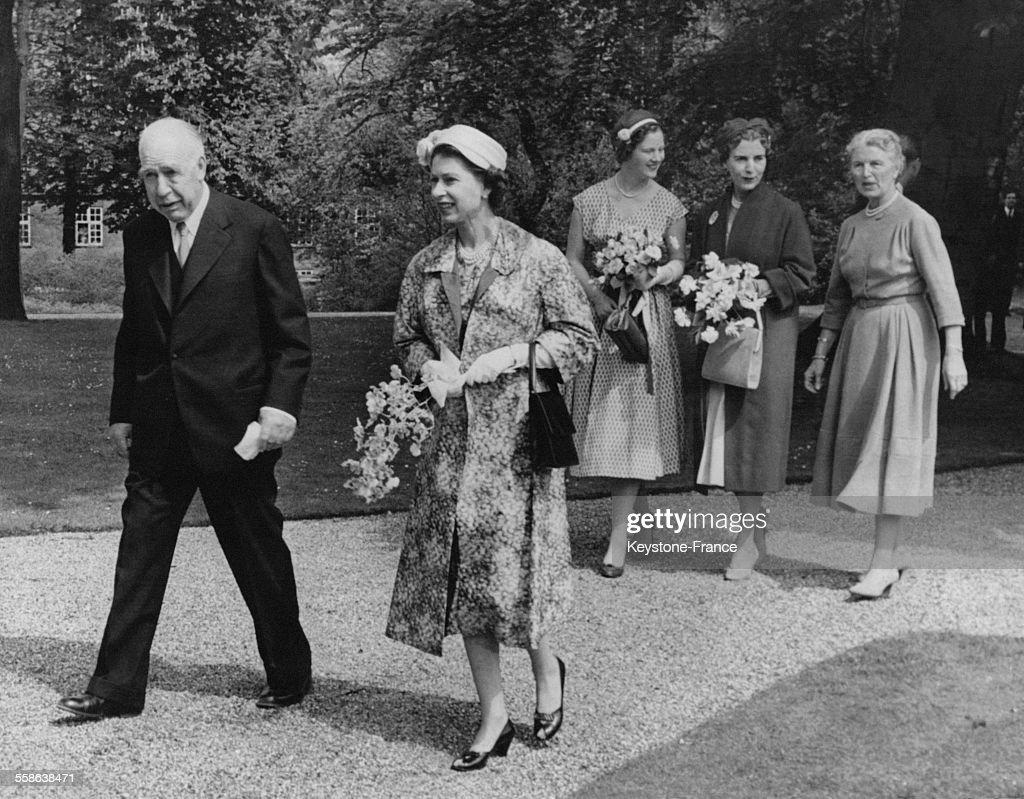 La Reine Elizabeth Au Danemark : News Photo