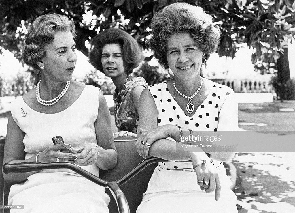 La Famille Royale De Grèce Et Celle Du Danemark A Corfou : Nieuwsfoto's