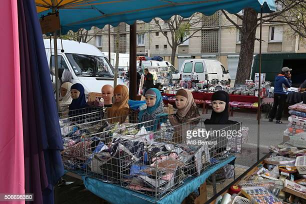La Reine Jeanne the salafi district in Avignon; The imams hold a zone of about a half-million inhabitants under the yoke of their fundamentalist...