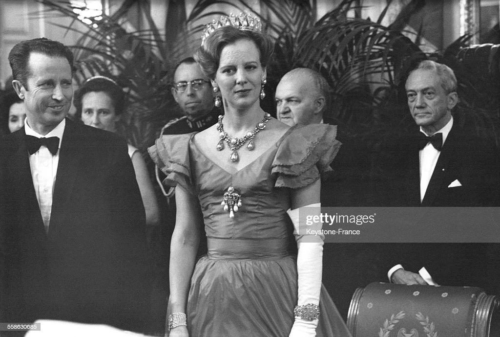Visite Officielle De La Reine Margrethe En Belgique : News Photo