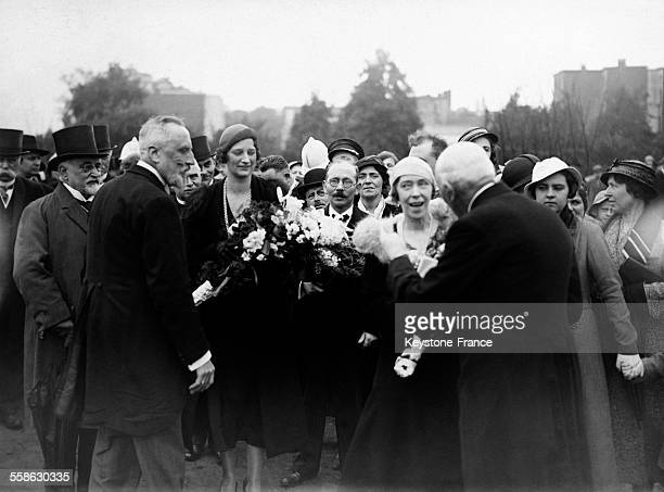 La Reine mere Elisabeth de Belgique et la Reine Astrid circa 1930