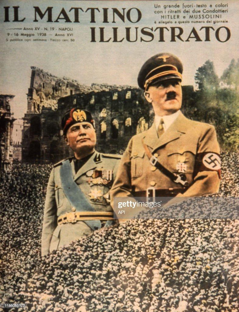 2 juin : Hitler et Mussolini se retrouvent au Brenner – Les guerres d'hier au jour le jour
