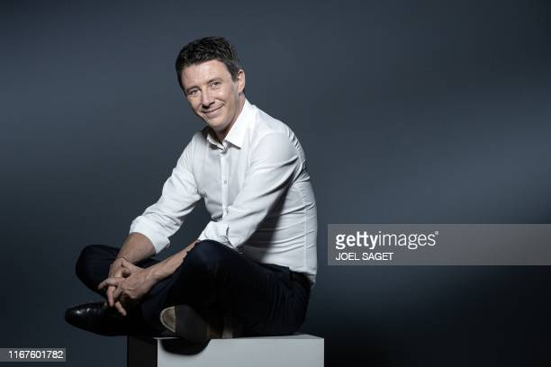 La Republique en Marche candidate for the Paris 2020 mayoral election Benjamin Griveaux poses during a photo session in Paris on September 11 2019