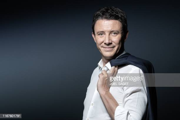 La Republique en Marche candidate for the Paris 2020 mayoral election Benjamin Griveaux poses during a photo session in Paris on September 11 2019