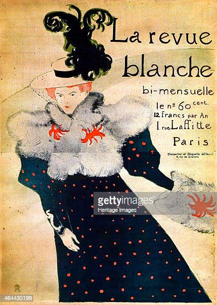'La Revue Blanche' c19th century Poster ToulouseLautrec Henri de Found in the collection of the State A Pushkin Museum of Fine Arts Moscow