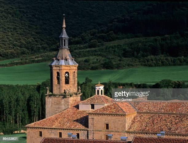 La Rioja Spain Suso Momastery bell tower San Millan de la Cogolla