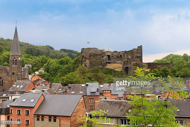 la roche-en-ardenne in the belgian ardennes - belgium stock pictures, royalty-free photos & images
