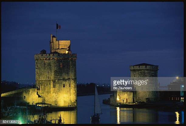 La Rochelle Harbor at Night