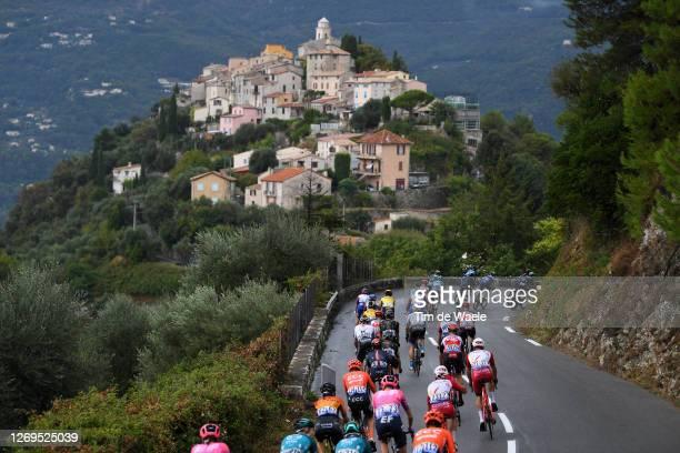 La Roquette sur Var / Landscape / Peloton / during the 107th Tour de France 2020, Stage 1 a 156km stage from Nice Moyen Pays to Nice / #TDF2020 /...
