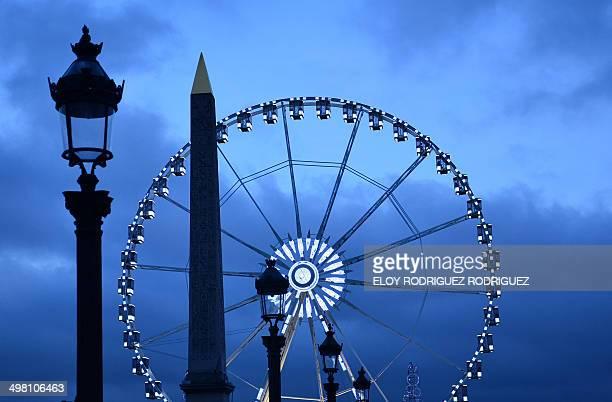 CONTENT] La Roue Obélisque Roue de Paris Place de la Concorde Paris