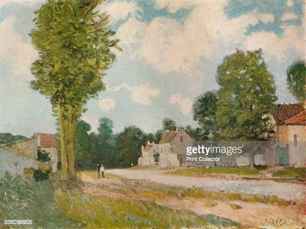La Route de Versailles 19th century From The Studio Volume 98 [London Offices of the Studio London 1929] Artist Alfred Sisley