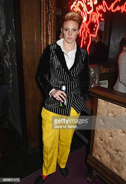 La Roux attends the NME Awards after party at Cuckoo Club on February 18 2015 in London England