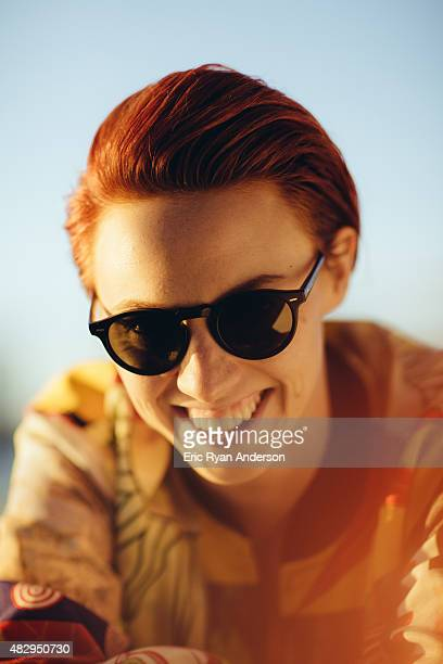 La Roux poses for a portrait for Billboard Magazine on June 6 2014 in New York City