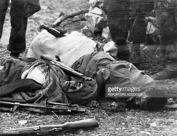 La répression pendant la guerre d'Algérie circa 1960 en Algérie