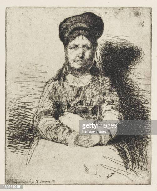 La Rétameuse, 1858. Artist James Abbott McNeill Whistler.