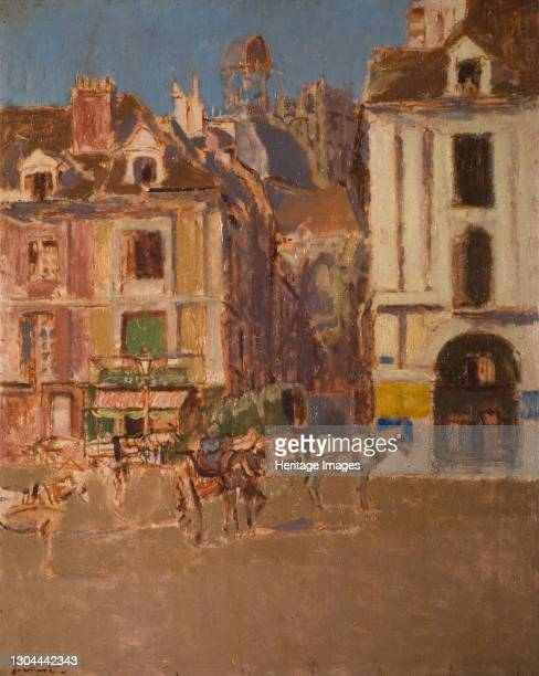 La Rue Notre Dame And The Quai Duquesne, 1902. Artist Walter Richard Sickert.