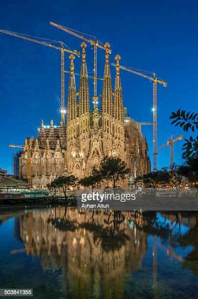 La Sagrada Familia in Barcelona,Spain