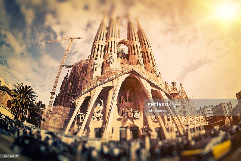 La Sagrada Familia : Stock Photo