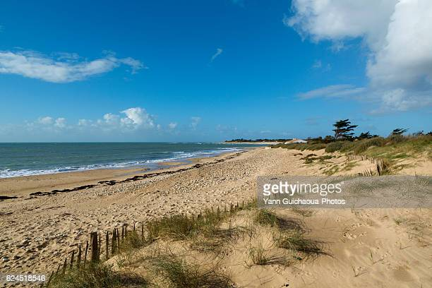 La Salee Beach At Sainte Marie De Re,Ile De Re, Poitou Charente, Charente Maritime, France
