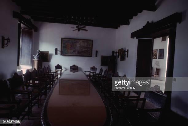 La salle de signature de la Casa de la Capitulacion à Maracaibo en 1992 Venezuela