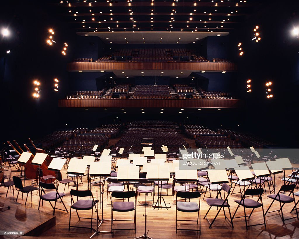 La Salle Pleyel Is A Concert Hall And One Of The Only Auditoriums