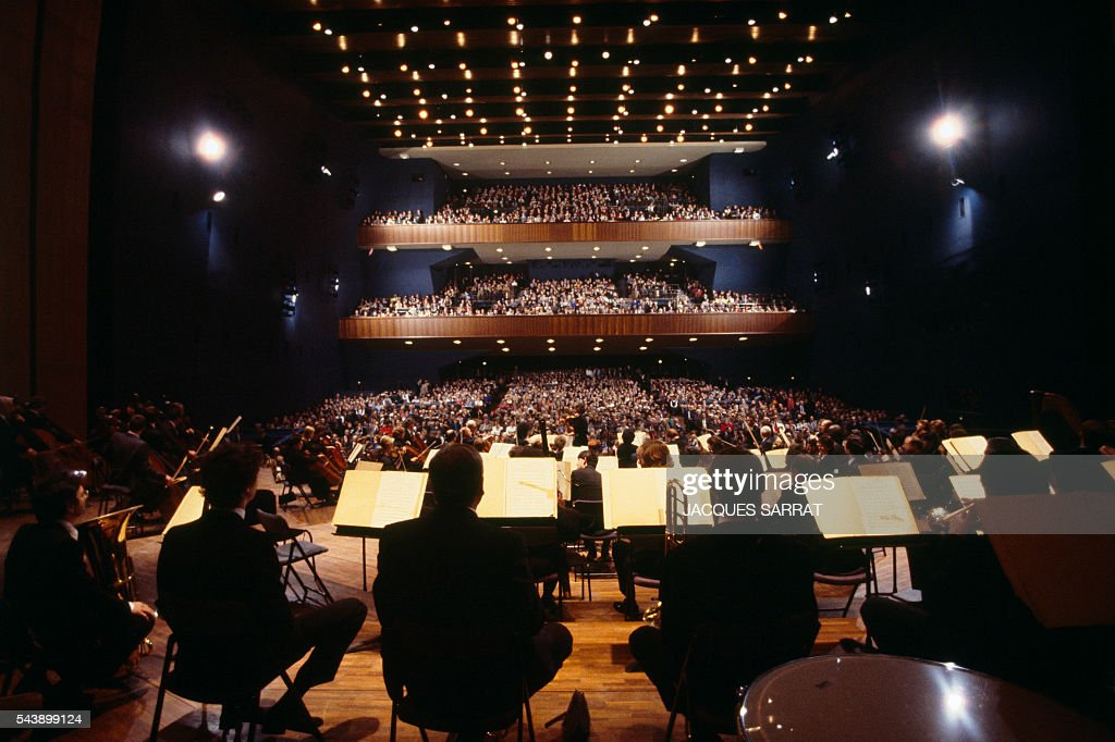 La Salle Pleyel Is A Large Concert Hall The Only Auditorium Built