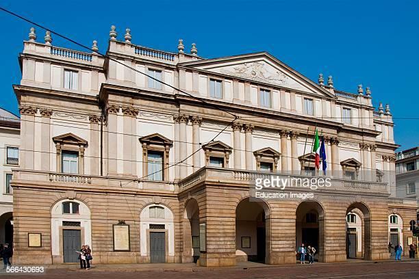 La Scala Theatre Milan Italy