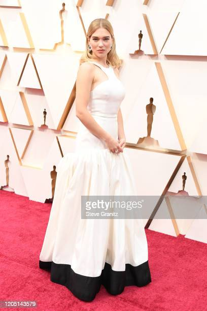 Léa Seydoux attends the 92nd Annual Academy Awards at Hollywood and Highland on February 09 2020 in Hollywood California