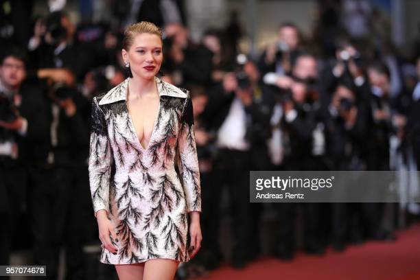 Léa Seydoux attends the screening of 'Cold War ' during the 71st annual Cannes Film Festival at Palais des Festivals on May 10 2018 in Cannes France