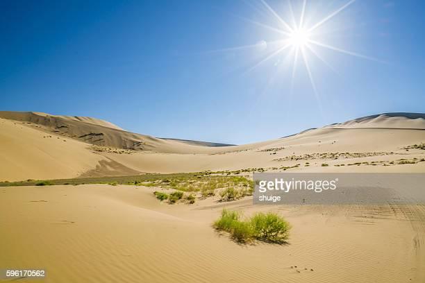 La shan Dan he Lin of desert, Inner Mongolia, China