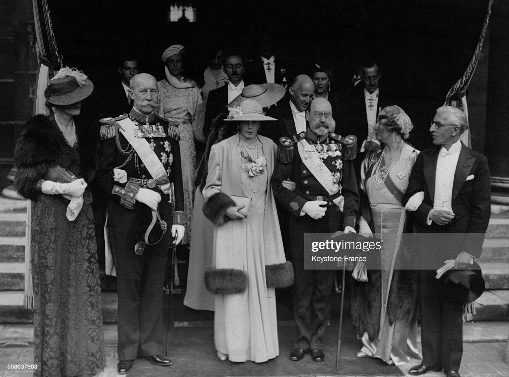 Mariage De La Princesse Eugénie De Grèce Avec Le Prince Dominique Radziwill : News Photo
